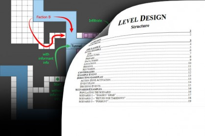 Level Design Structure splash