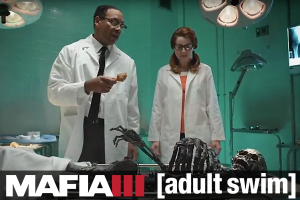 Mafia 3 on Adult Swim