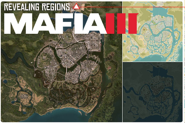 Mafia 3 World Maps