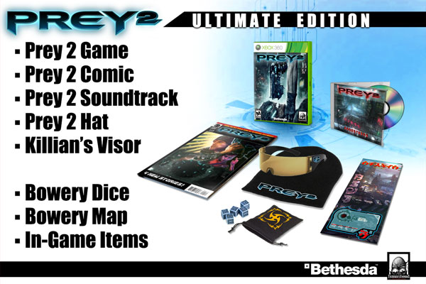 Prey 2 Special Edition Ideas