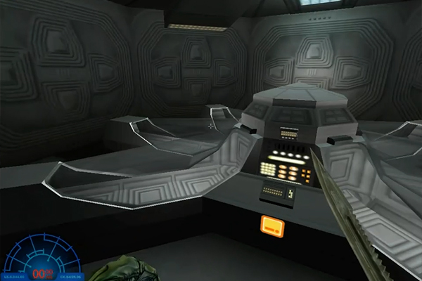 Nostromo prototype level